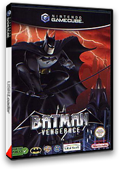 Batman Vengeance pochette GameCube (GBVP41)