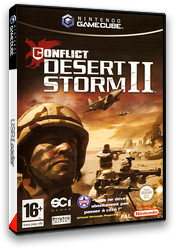 Conflict: Desert Storm II: Back to Baghdad pochette GameCube (GC2P75)