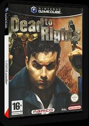 Dead to Rights pochette GameCube (GDRP69)