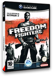 Freedom Fighters pochette GameCube (GFDF69)