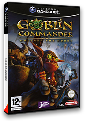 Goblin Commander:Unleash the Horde pochette GameCube (GGCP0A)