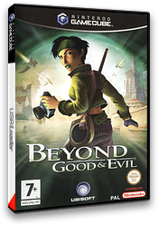 Beyond Good And Evil pochette GameCube (GGEY41)