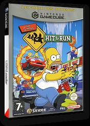The Simpsons: Hit & Run pochette GameCube (GHQP7D)
