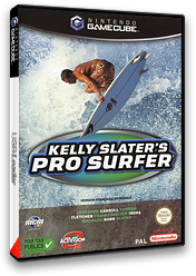 Kelly Slater's Pro Surfer pochette GameCube (GKSX52)