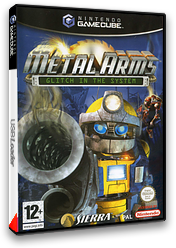 Metal Arms:Glitch in the System pochette GameCube (GM5F7D)