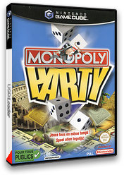 Monopoly Party pochette GameCube (GMQP70)