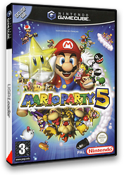 Mario Party 5 pochette GameCube (GP5P01)