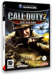 Call of Duty 2: Big Red One pochette GameCube (GQCP52)