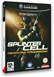 Tom Clancy's Splinter Cell: Pandora Tomorrow pochette GameCube (GT7X41)