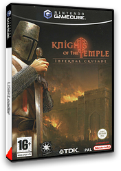 Knights Of The Temple:Infernal Crusade pochette GameCube (GTPP6S)