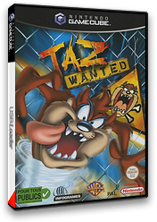 Taz Wanted pochette GameCube (GTWP70)