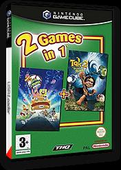 2 Games in 1:Bob L'éponge le Film / Tak 2 Le Sceptre des Rêves pochette GameCube (GU3X78)