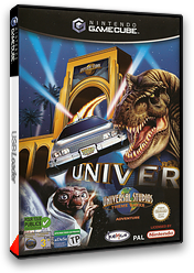 Universal Studios Theme Park Adventure pochette GameCube (GUSP7F)