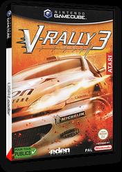 V-Rally 3 pochette GameCube (GV3P70)