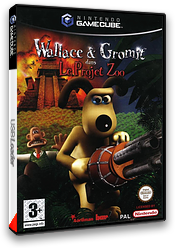 Wallace & Gromit:Project Zoo pochette GameCube (GWLP6L)