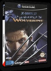 X-Men 2:La Vengeance de Wolverine pochette GameCube (GWVX52)