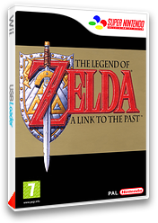 The Legend of Zelda : A Link to the Past pochette VC-SNES (JADP)