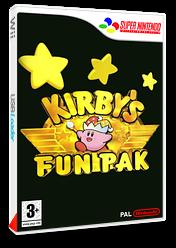 Kirby's Fun Pak pochette VC-SNES (JCCP)