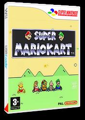 Super Mario Kart pochette VC-SNES (JCWP)