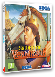 Sword of Vermilion pochette VC-MD (MAMP)
