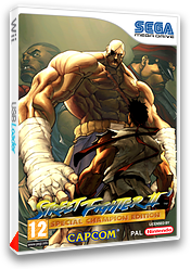 Street Fighter II': Special Champion Edition pochette VC-MD (MCLP)