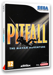 Pitfall: The Mayan Adventure pochette VC-MD (MCVP)