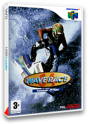 Wave Race 64 pochette VC-N64 (NAIP)