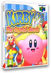Kirby 64 : The Crystal Shards pochette VC-N64 (NAMP)