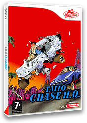 Taito Chase H.Q. pochette VC-PCE (PC2P)