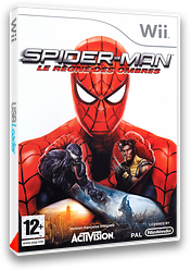 Spider-Man:Le Règne des Ombres pochette Wii (R3SP52)