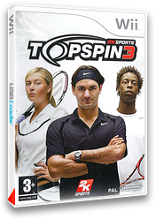Top Spin 3 pochette Wii (R3TP54)