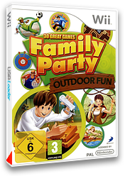 Family Party : 30 Great Games Outdoor Fun pochette Wii (R63PG9)