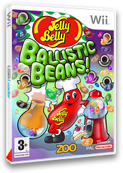 Jelly Belly:Ballistic Beans pochette Wii (R7BP7J)