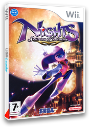 NiGHTS : Journey of Dreams pochette Wii (R7EP8P)