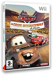 Cars : La Coupe Internationale de Martin pochette Wii (RC2X78)