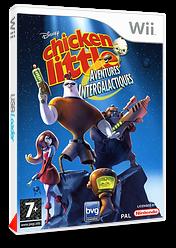 Chicken Little:Aventures Intergalactiques pochette Wii (RCLP4Q)