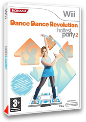Dance Dance Revolution : Hottest Party 2 pochette Wii (RD4PA4)
