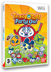 Tamagotchi : Party On! pochette Wii (RDTPAF)