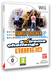 Family Trainer: Extreme Challenge pochette Wii (REJPAF)