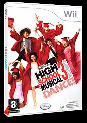 High School Musical 3 Dance! Nos Années Lycée pochette Wii (RH3P4Q)