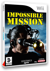 Impossible Mission pochette Wii (RIMP6M)