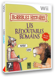 Horribles Histoires : les Redoutables Romains pochette Wii (RIOPSU)