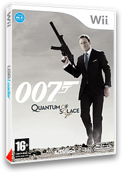 007:Quantum of Solace pochette Wii (RJ2P52)