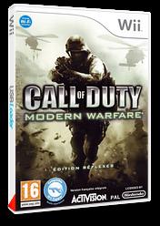 Call of Duty :Modern Warfare - Edition Réflexes pochette Wii (RJAP52)