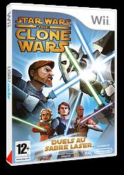 Star Wars The Clone Wars:Duels au Sabre Laser pochette Wii (RLFP64)