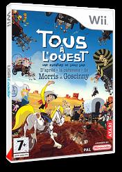 Lucky Luke: Tous À L'Ouest pochette Wii (RLLP70)