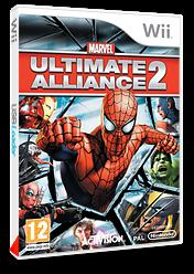 Marvel: Ultimate Alliance 2 pochette Wii (RMSP52)