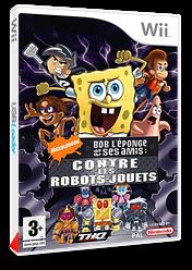Bob l'Eponge et ses Amis:Contre les Robots-Jouets pochette Wii (RN3P78)