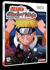 Naruto:Clash of Ninja Revolution European Version pochette Wii (RNXPDA)