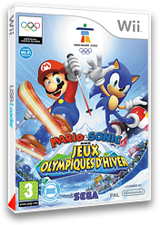 Mario & Sonic aux Jeux Olympiques d'Hiver pochette Wii (ROLP8P)
